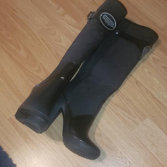Brenda Coach Rain Boots
